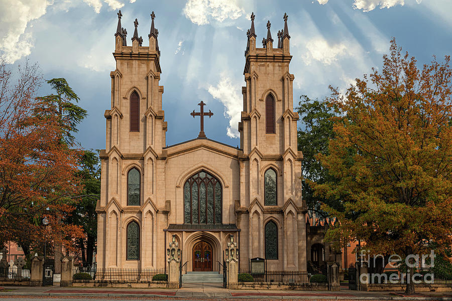Trinity Episcopal Cathedral - Columbia South Carolina Photograph