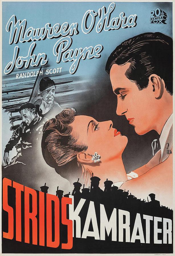tripoli Poster 1951 Mixed Media