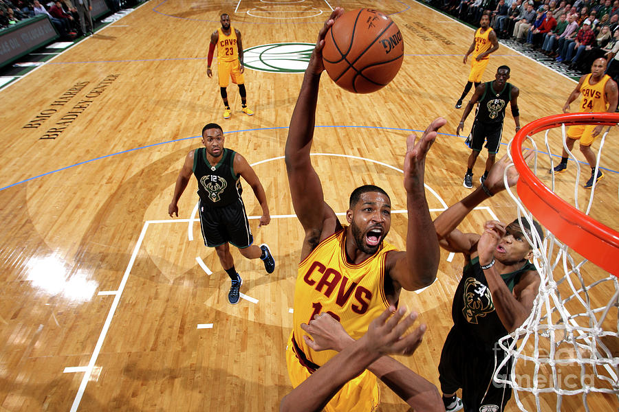 Tristan Thompson Photograph by Gary Dineen