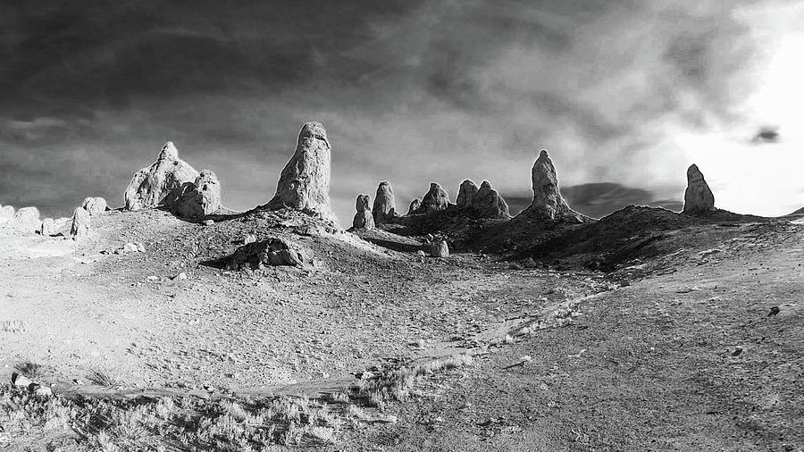 Trona Pinnacles - California Photograph