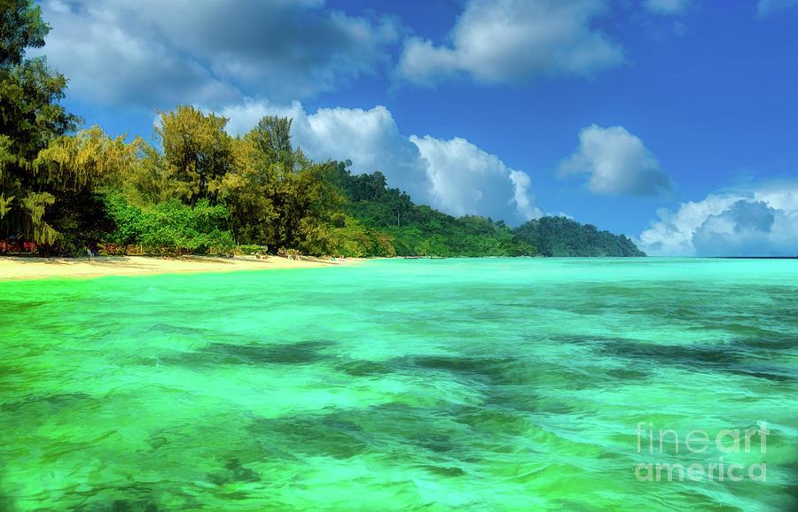 Tropical Coast Thailand by Adrian Evans