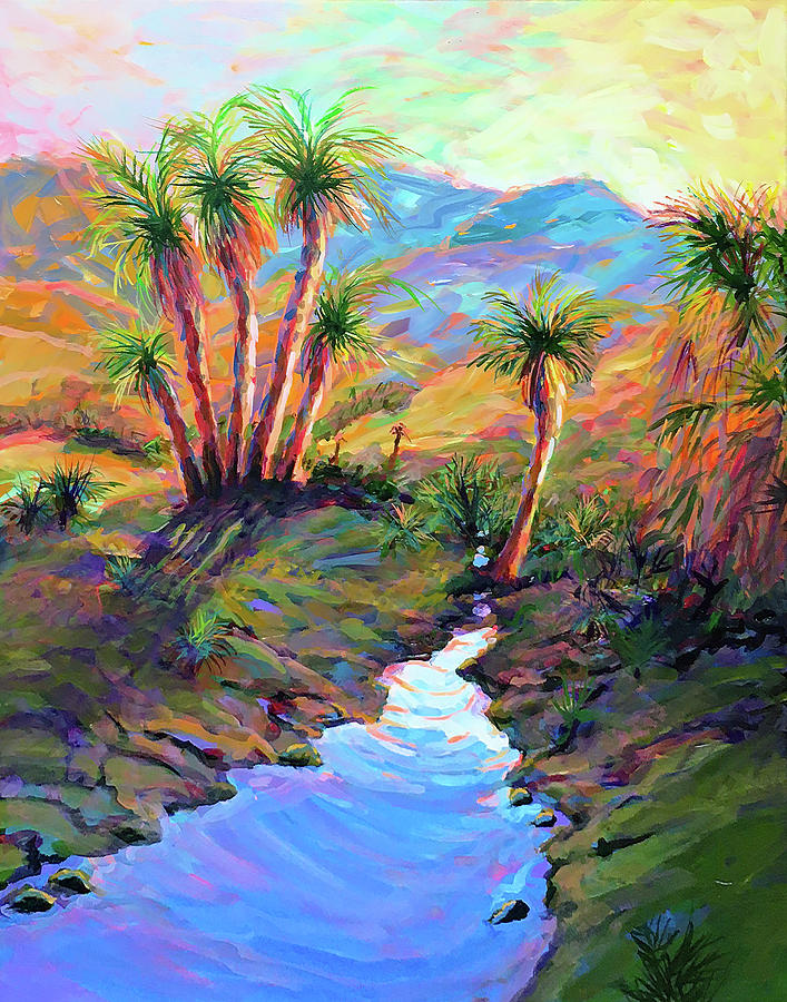 Tropical Oasis Painting