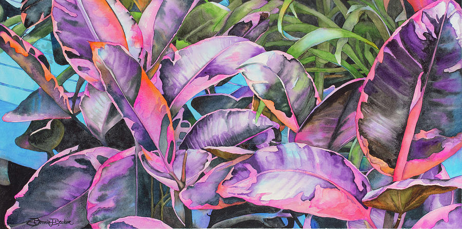 Tropical Painting - Tropical Splash by Bonnie J Becker