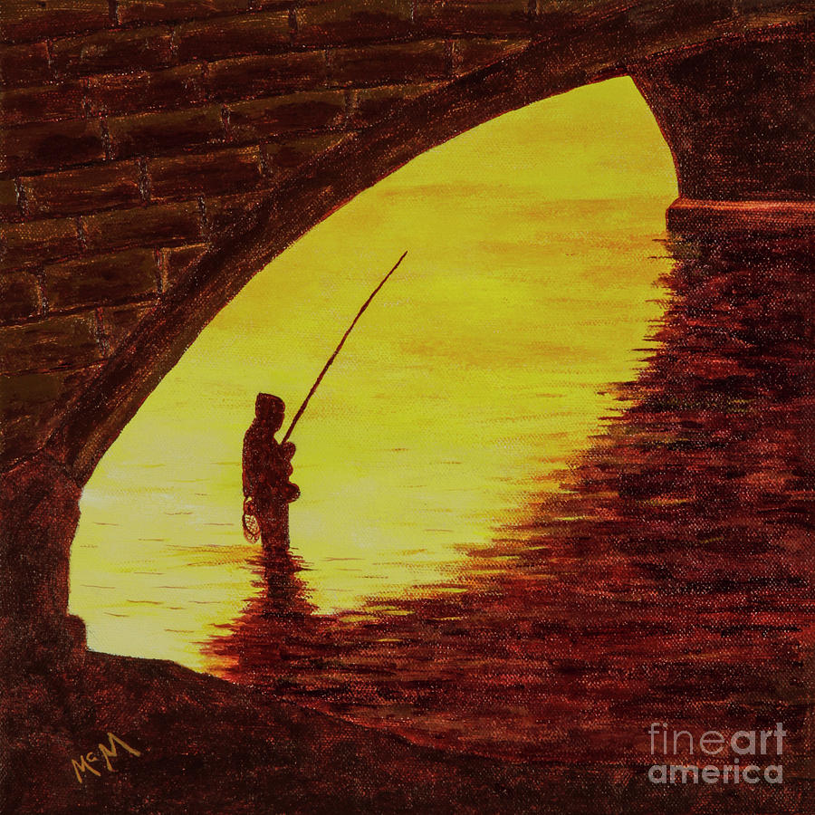 Trout Fishig, Missouri Ozarks by Garry McMichael