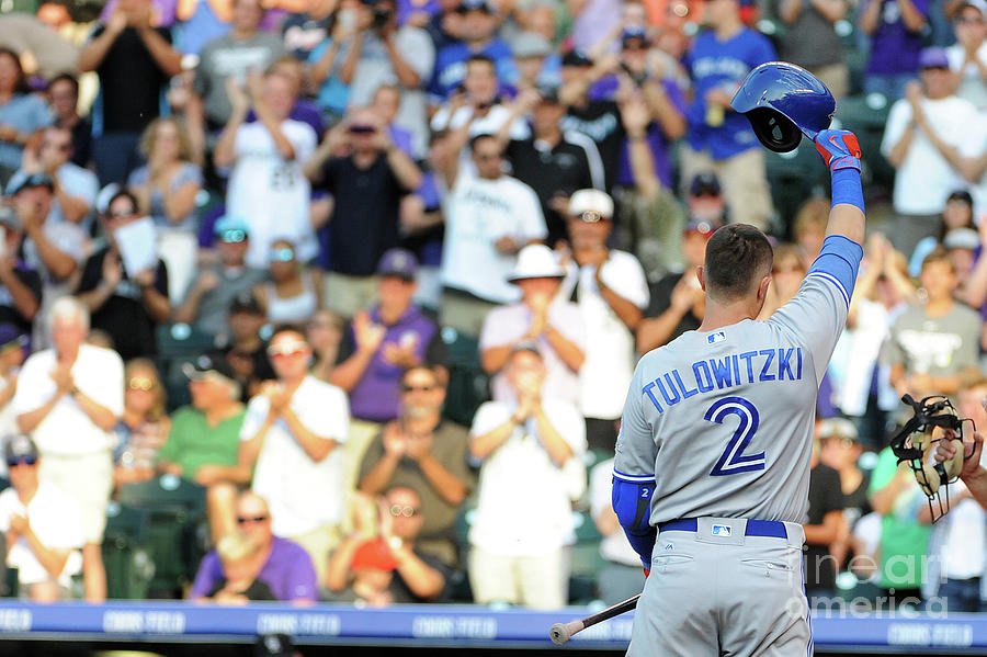 Troy Tulowitzki Photograph by Bart Young