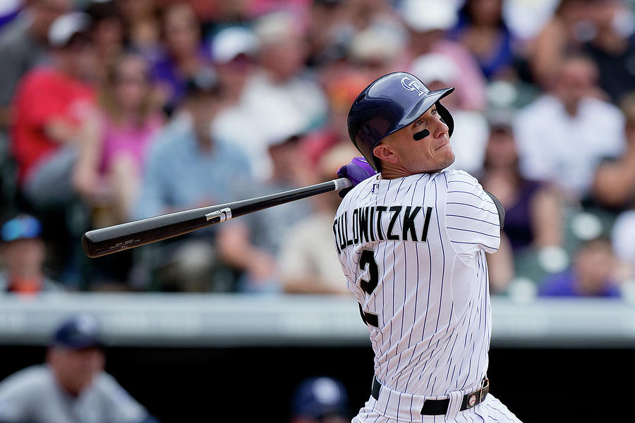 Troy Tulowitzki Photograph by Justin Edmonds
