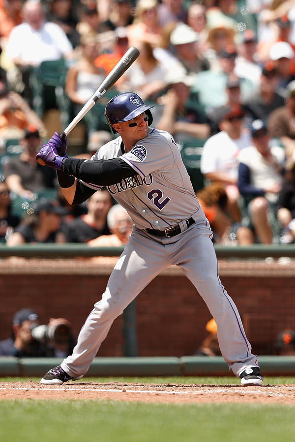 Troy Tulowitzki Photograph by Lachlan Cunningham
