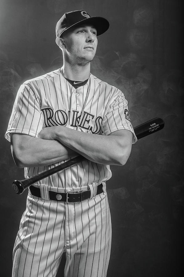 Troy Tulowitzki Photograph by Rob Tringali