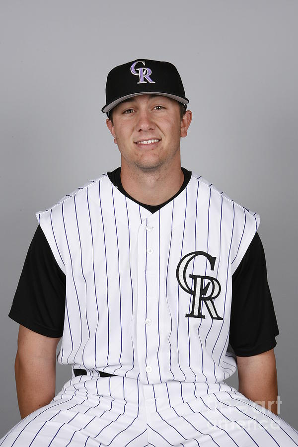 Troy Tulowitzki Photograph by Ron Vesely