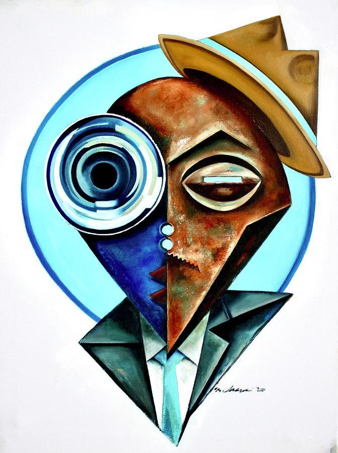 Jazz Painting - Trumpet Modern Roayle by Martel Chapman