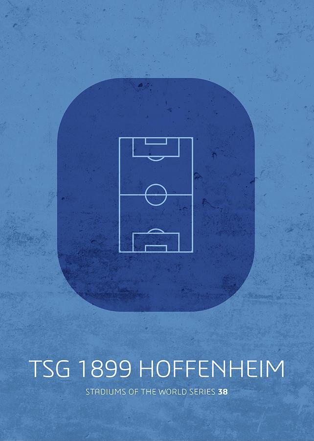 Stadium Mixed Media - Tsg 1899 Hoffenheim Stadium Football Soccer Series by Design Turnpike