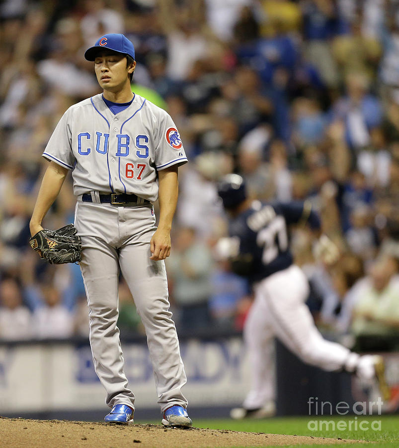 Tsuyoshi Wada and Carlos Gomez Photograph by Mike Mcginnis