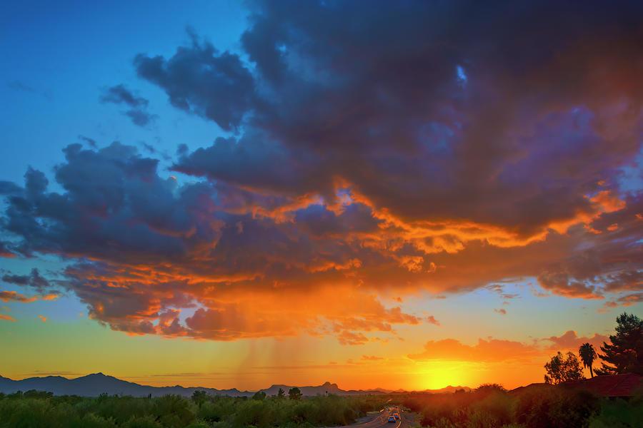 Tucson Sunset H2059 Photograph
