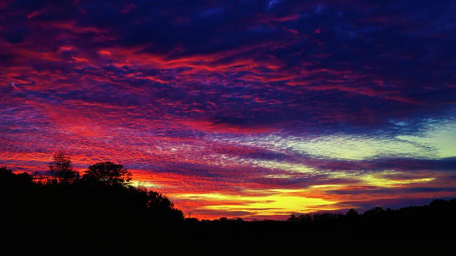 Tuesday Night Sunset by Daniel Brinneman