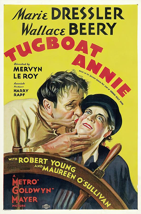 tugboat Annie, 1933 -c Mixed Media