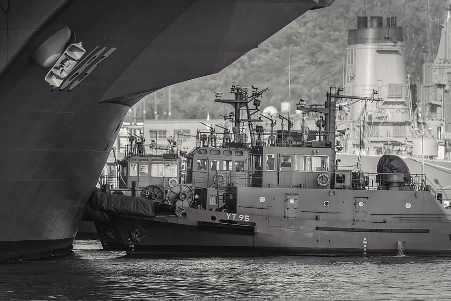 Tugs 2 by William Chizek