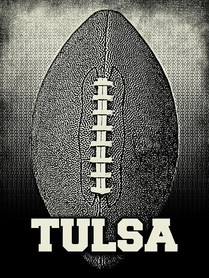 Tulsa Football - Sports by Flo Karp