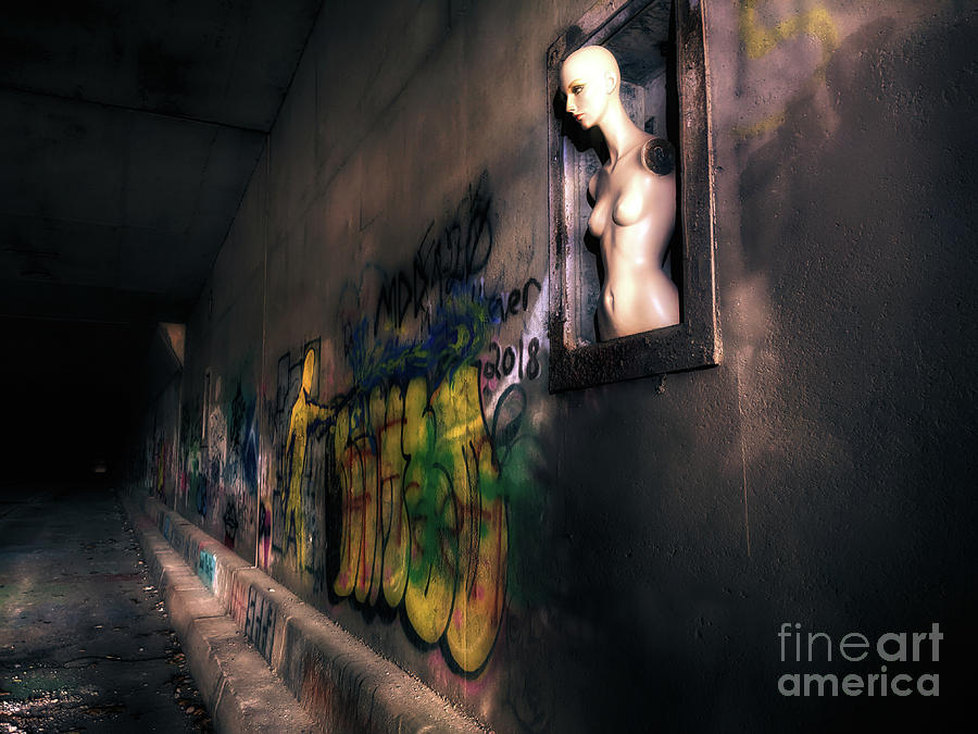 Abandoned Photograph - Tunnel Vision  by Steven Digman
