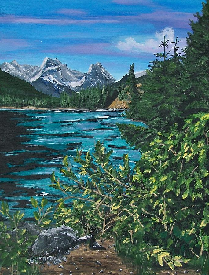 Turquoise Waters Painting