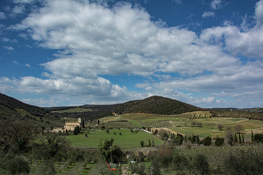 Tuscany in Early Spring by Douglas Wielfaert