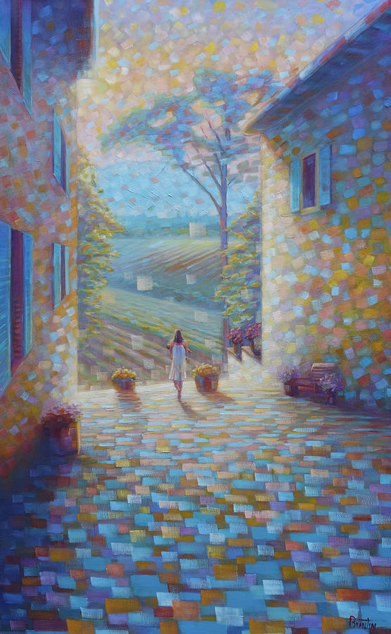 Tuscany Painting - Tuscany by Rob Buntin