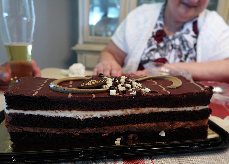 Tuxedo Cake Photograph