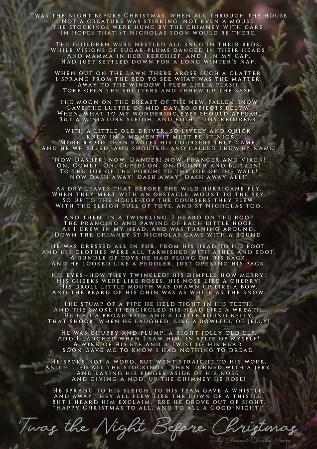 Twas the Night Before Christmas by Andrea Anderegg