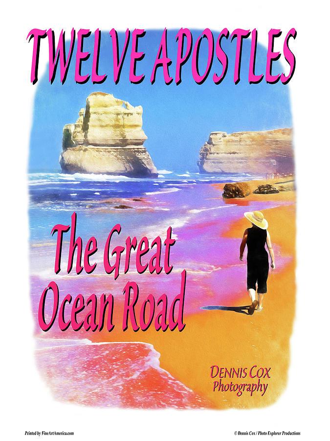 Twelve Apostles Travel Poster Photograph