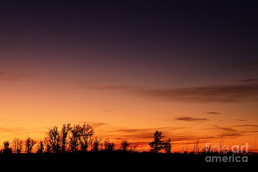 Twilight at Crex Meadows by Larry Ricker