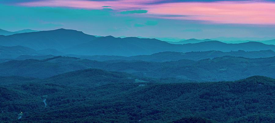 Blue Ridge Mountains Photograph - Twilight by Melissa Southern
