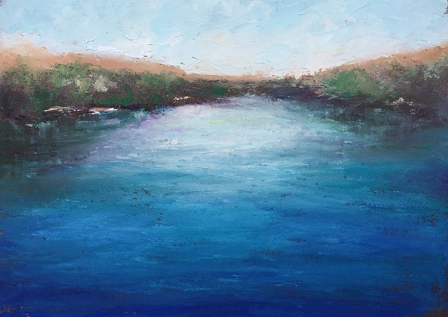 Twilight on Blue Heron Lake by Shannon Grissom