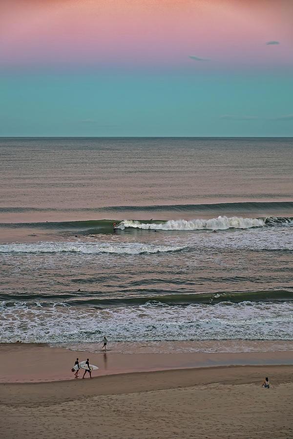 Twilight Surf Photograph