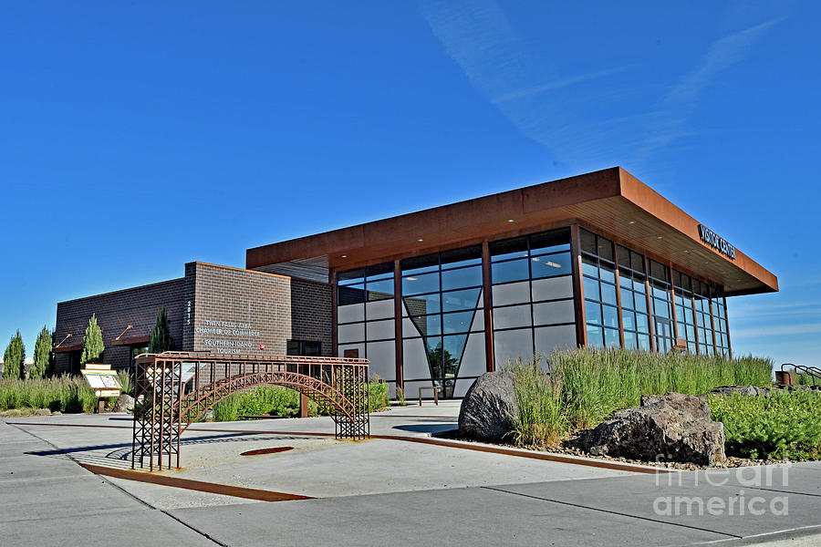 Twin Fall Visitors Center, Id Photograph
