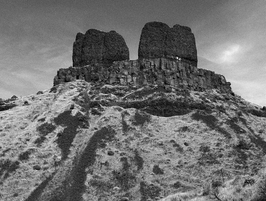 Twin mesas by Jean Evans