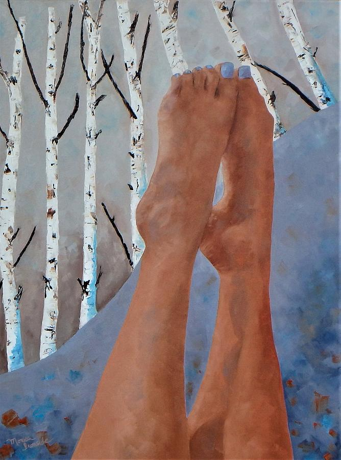 Twinkle Toes Painting by Monica Ironside
