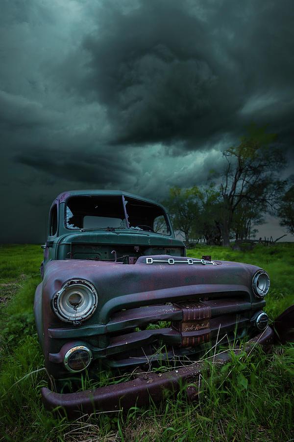 Rfd Photograph - Twisted Metal  by Aaron J Groen