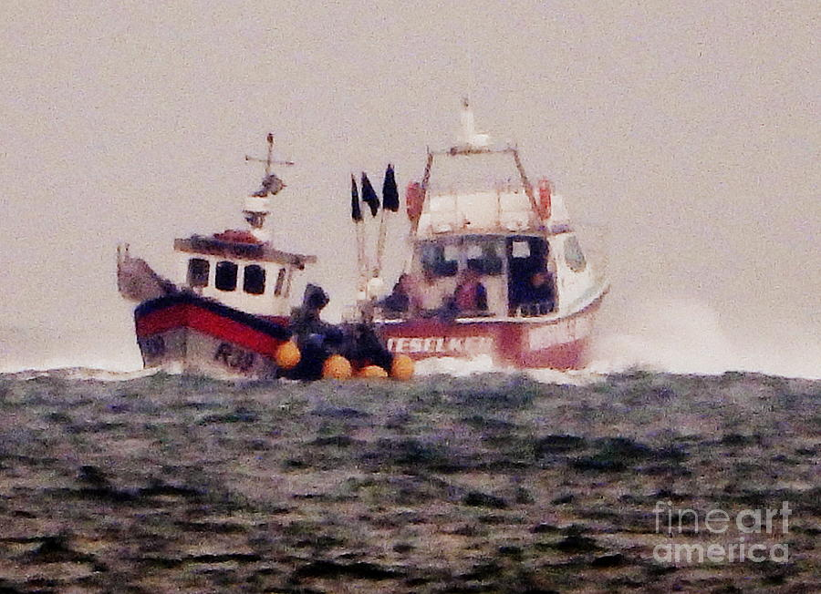 2 Photograph - Two Boats by Andy Thompson
