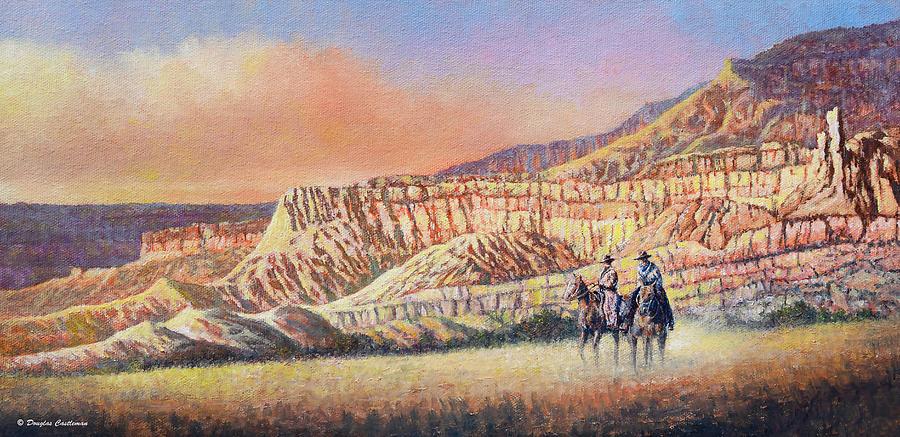 Two Cowboys by Douglas Castleman