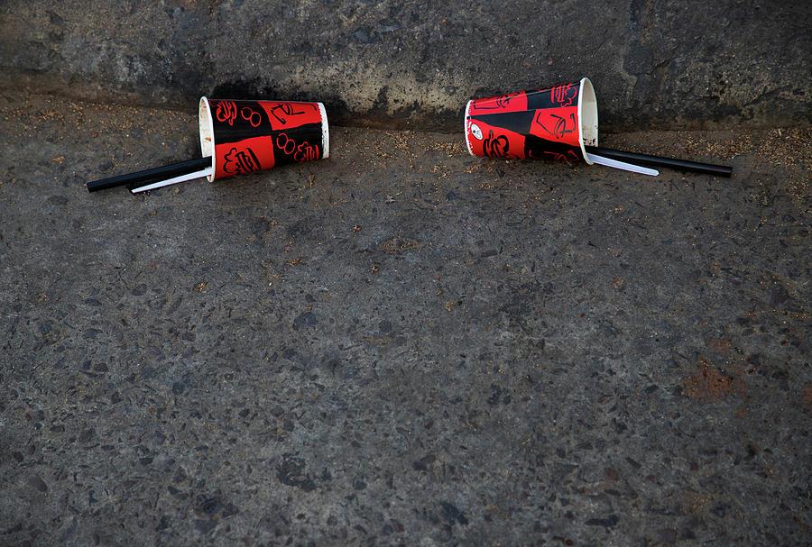 Two Empty Glasses by Prakash Ghai