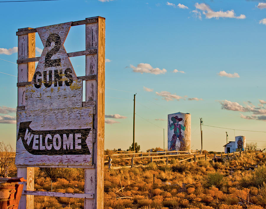 Two Guns Arizona by Matthew Bamberg