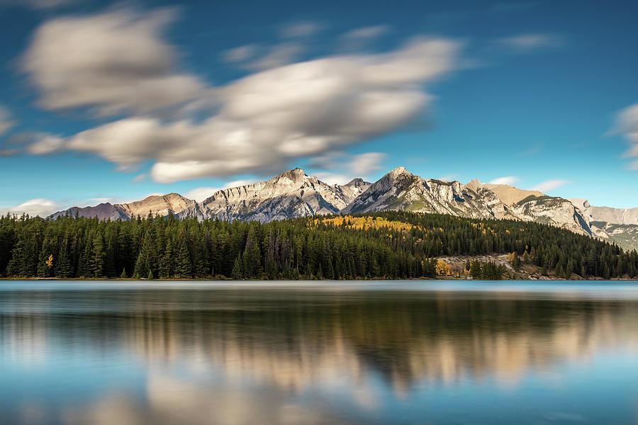 Two Jack Lake Banff Photograph