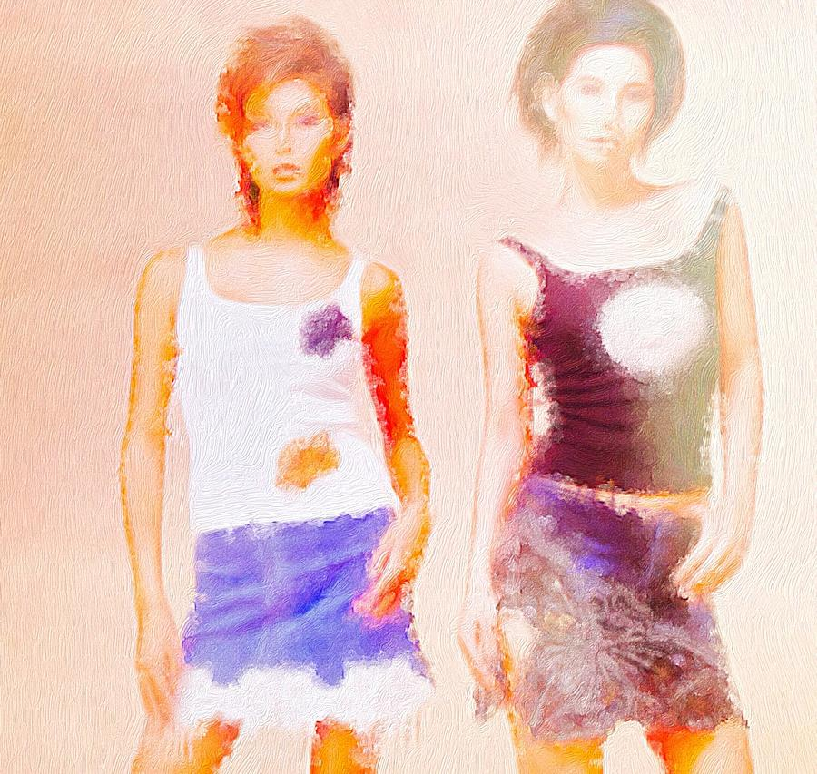 Two Model Tees Photograph
