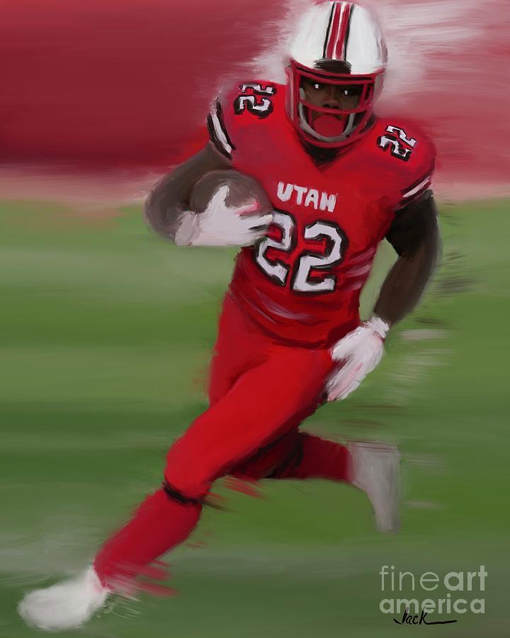 Utah Painting - Ty Jordan by Jack Bunds