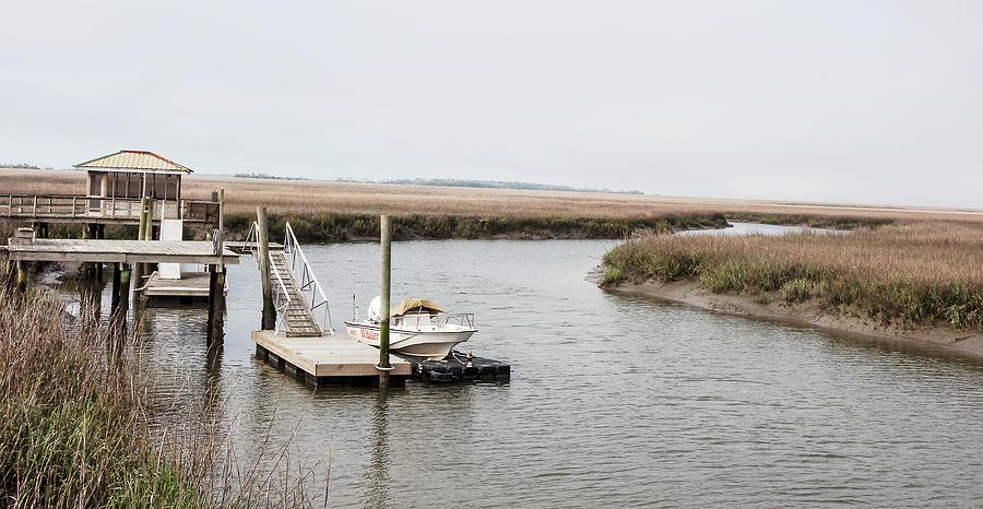 Tybee Island Salt Marsh Photograph