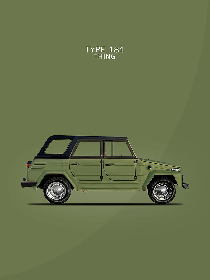 Vw Thing Photograph - Type 181 Thing by Mark Rogan