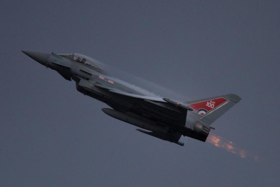 Typhoon Eurofighter Jet Photograph