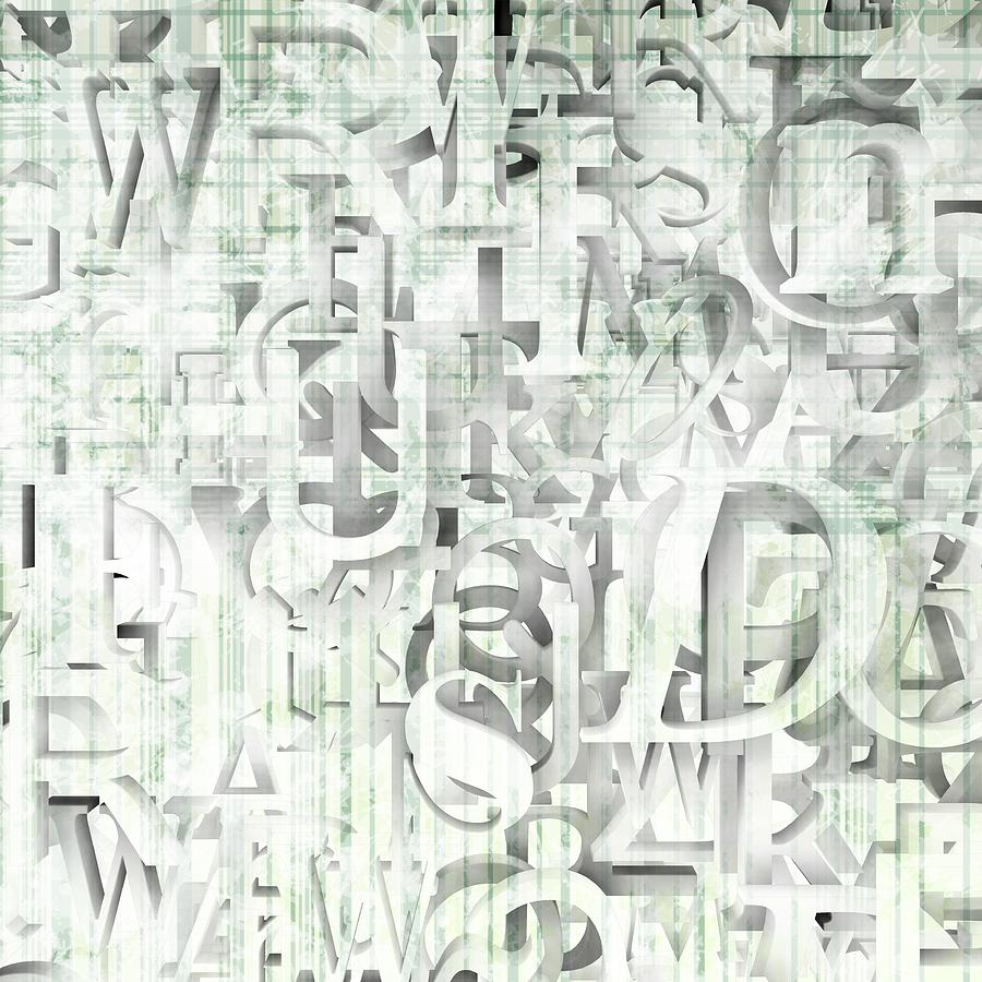 Typography Wallpaper Digital Art