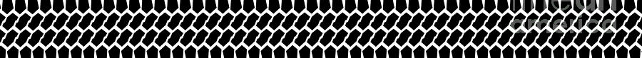 Tyre Tread Marks Web Banner On White by Bigalbaloo Stock