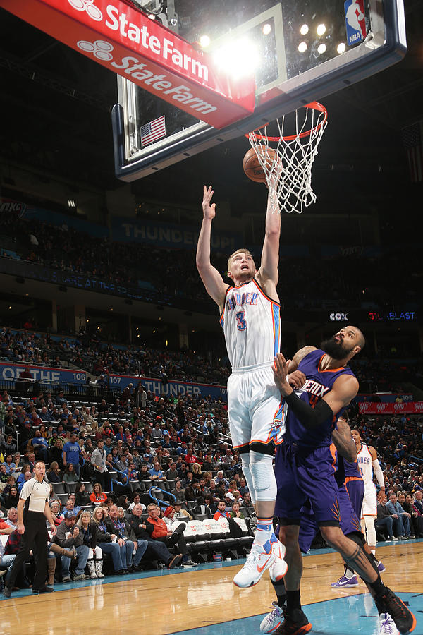 Tyson Chandler and Domantas Sabonis Photograph by Layne Murdoch
