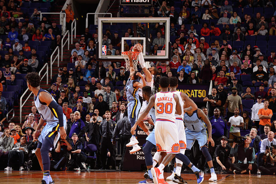 Tyson Chandler Photograph by Barry Gossage